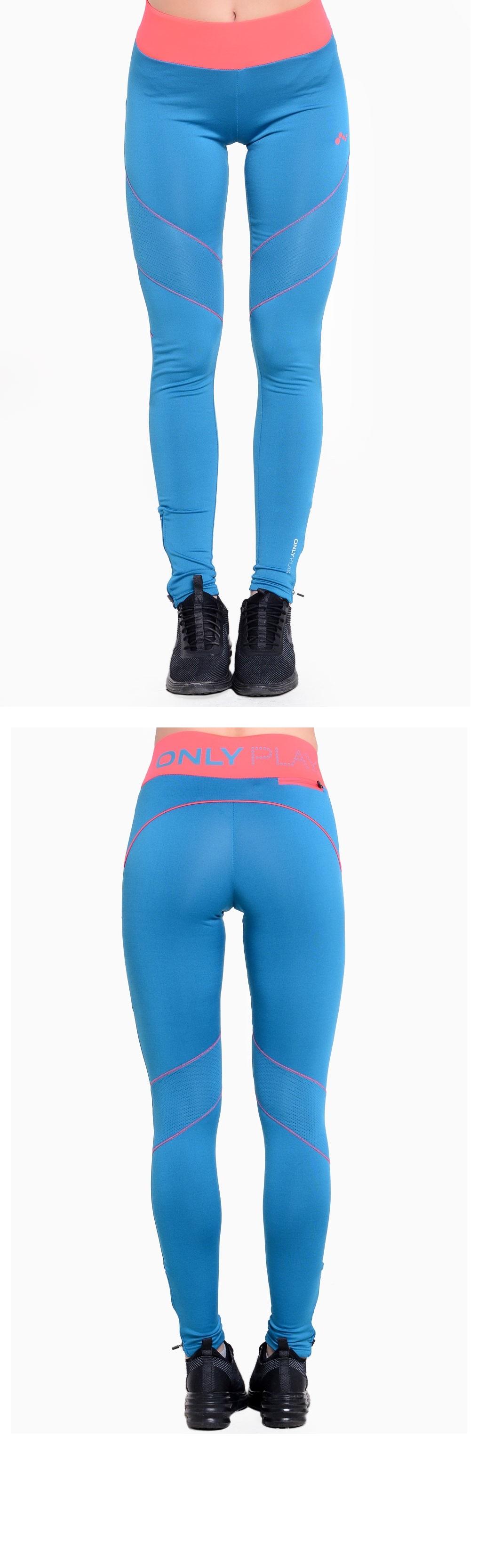 leggings donna azzurri