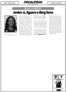 La Prealpina 27-01-2011