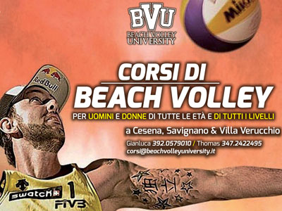 Corsi di beach volley